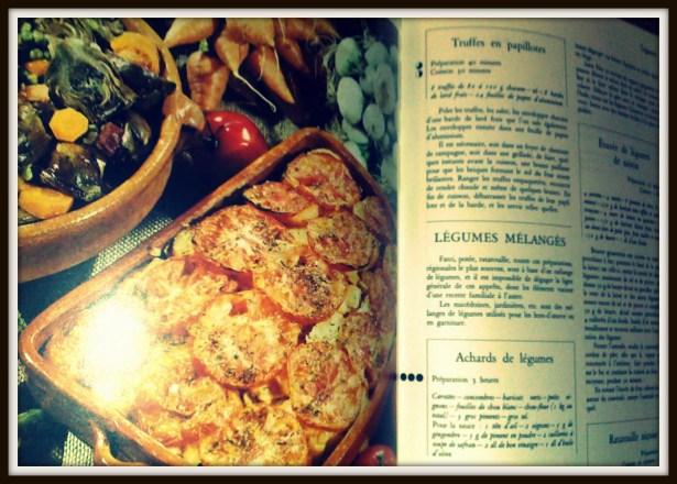 Provence: artichauts à la barigoule et tomates provençales. C'est une cuisine qui a de l'accent.