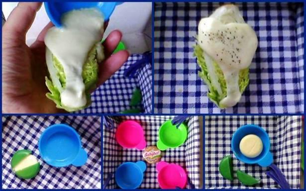 У меня сырки отлично пошли с мини качаном хрустящего салата-латук! )))
