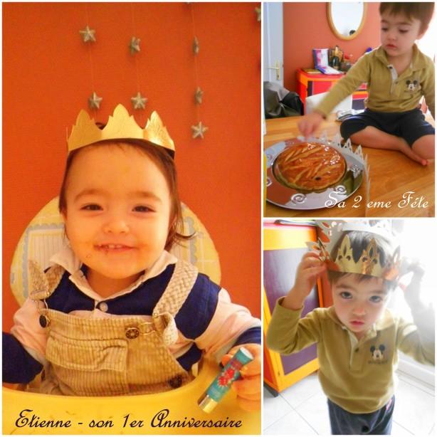 Счастливчик Этьенн назначается монархом дня! :)