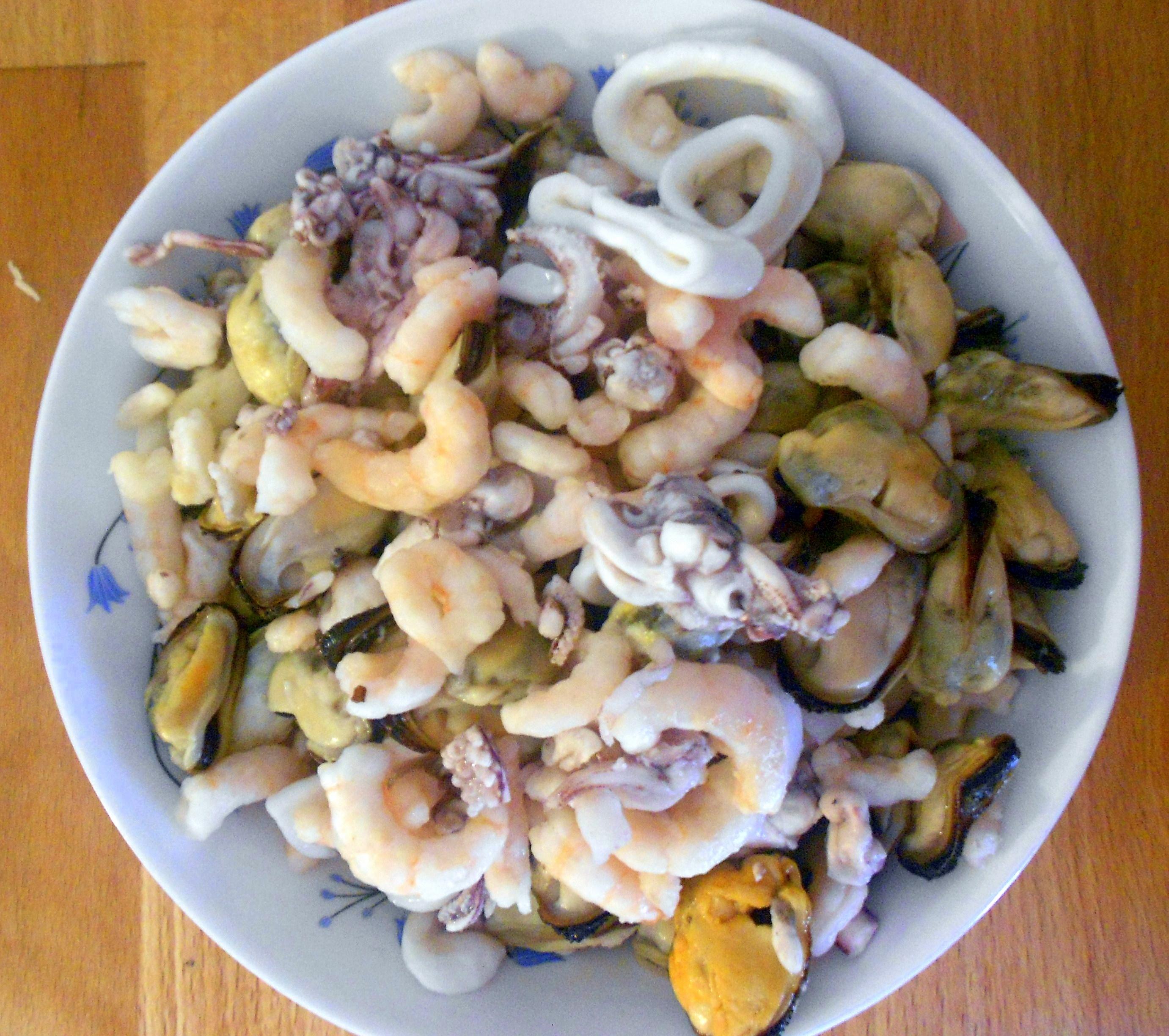 Рецепты из морепродуктов морской коктейль