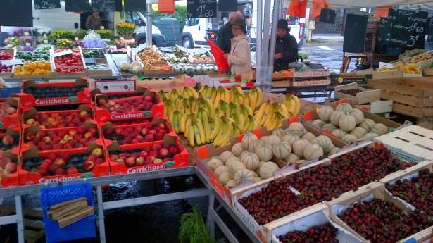 фрукты во франции