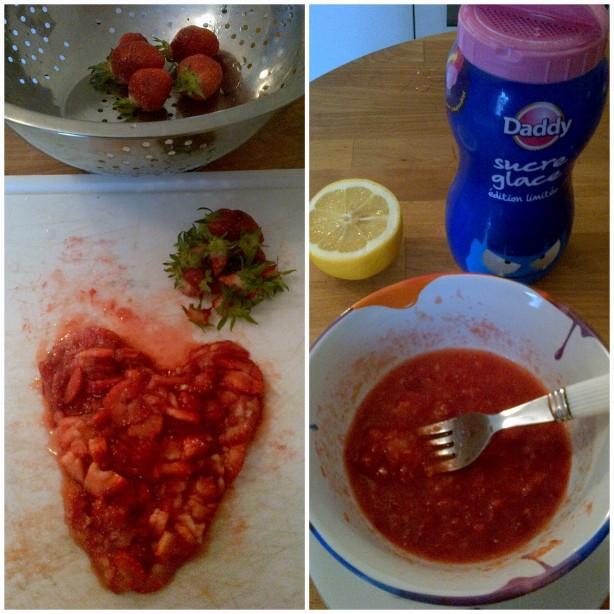 фруктовая закуска для детей
