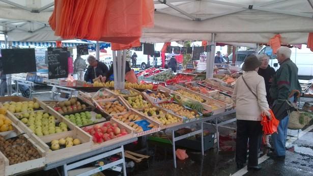 продуктовый рынок франции