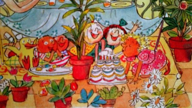 L'anniversaire de Milie. Scénario: Sophie Chabot. Illustration: Anne Wilsdorf