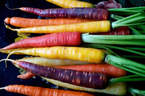 Такая разная морковь
