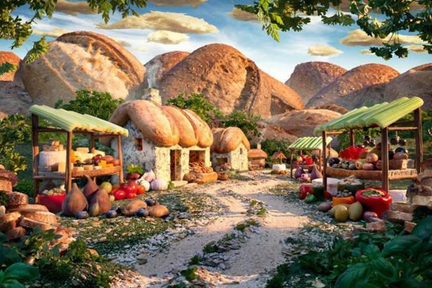 Карл Уорнер (Carl Warner) – Аппетитные пейзажи.