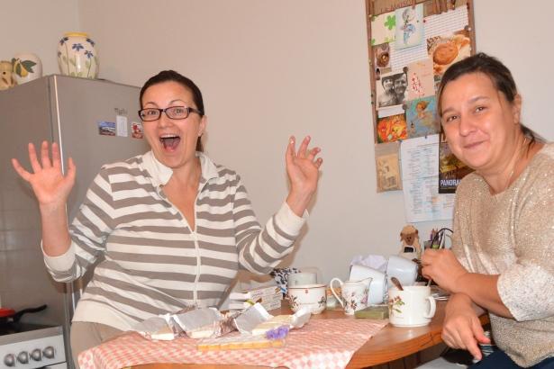 Irina Dubroca, моя подруга и Главынй Дегустатор моих блюд по заместительству