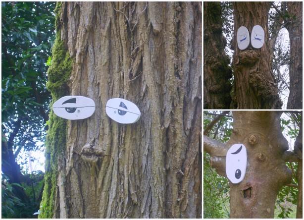 Да, да, да! У деревьев есть глаза: грустные смешные, романтичные...