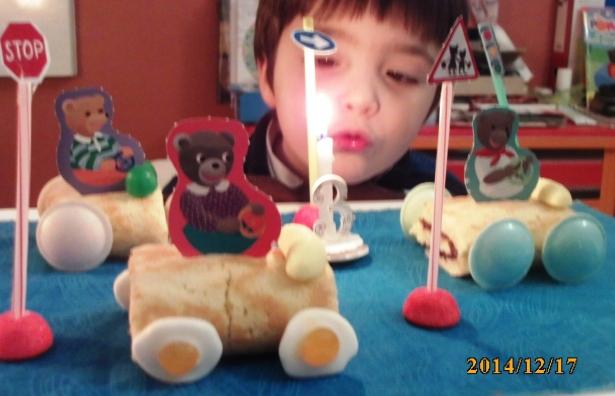 Ура! День рождения! Сыну Этьенну 3 года !
