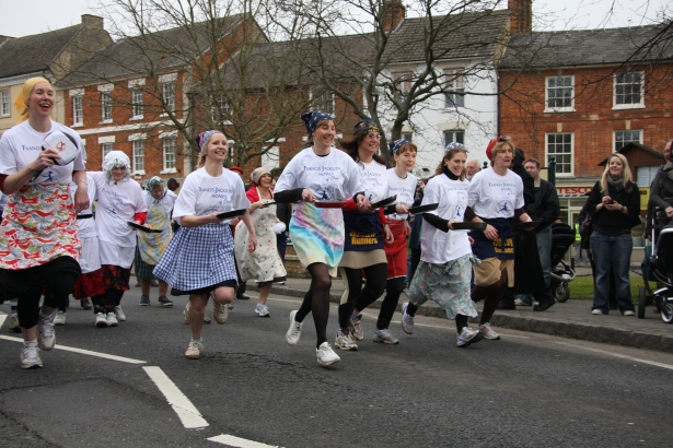«Блинные бега» в Англии. 2009