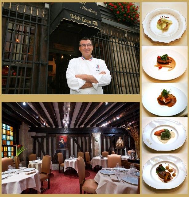 Le Chef Manuel Martinez, artisan de la gastronomie française