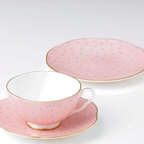Чашка с блюдцем Polka Dot Tea Story, Wedgwood
