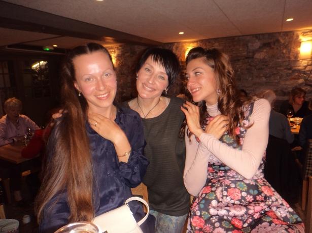 Слева направо: Инесса, Галина, Валентина