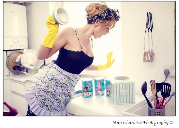 Domestic Goddess Vintage Fashion shoot / Модная фотосессия: Домашние богини в стиле винтаж