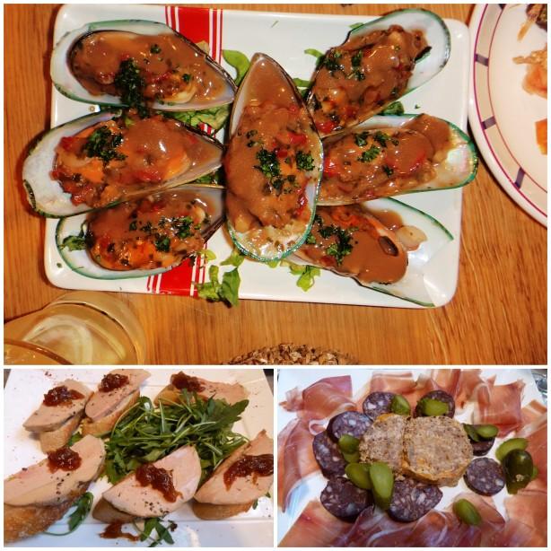 Cuisine gourmand, pintxos et vins