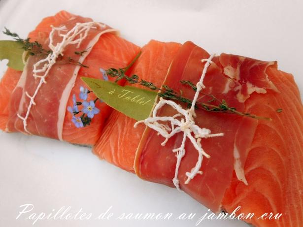 Papillotes de saumon au jambon cru Апрель —  месяц рыбы! Любимый продукт в весенней подаче